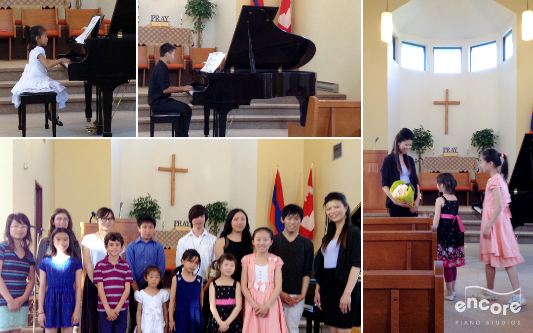 Encore Piano Studios | Wrap up of the 2014 Piano Recital