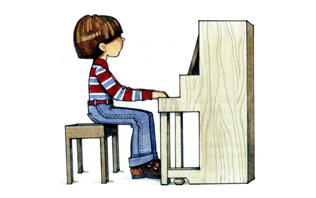 Five Steps to Good Posture | North York Piano Lessons